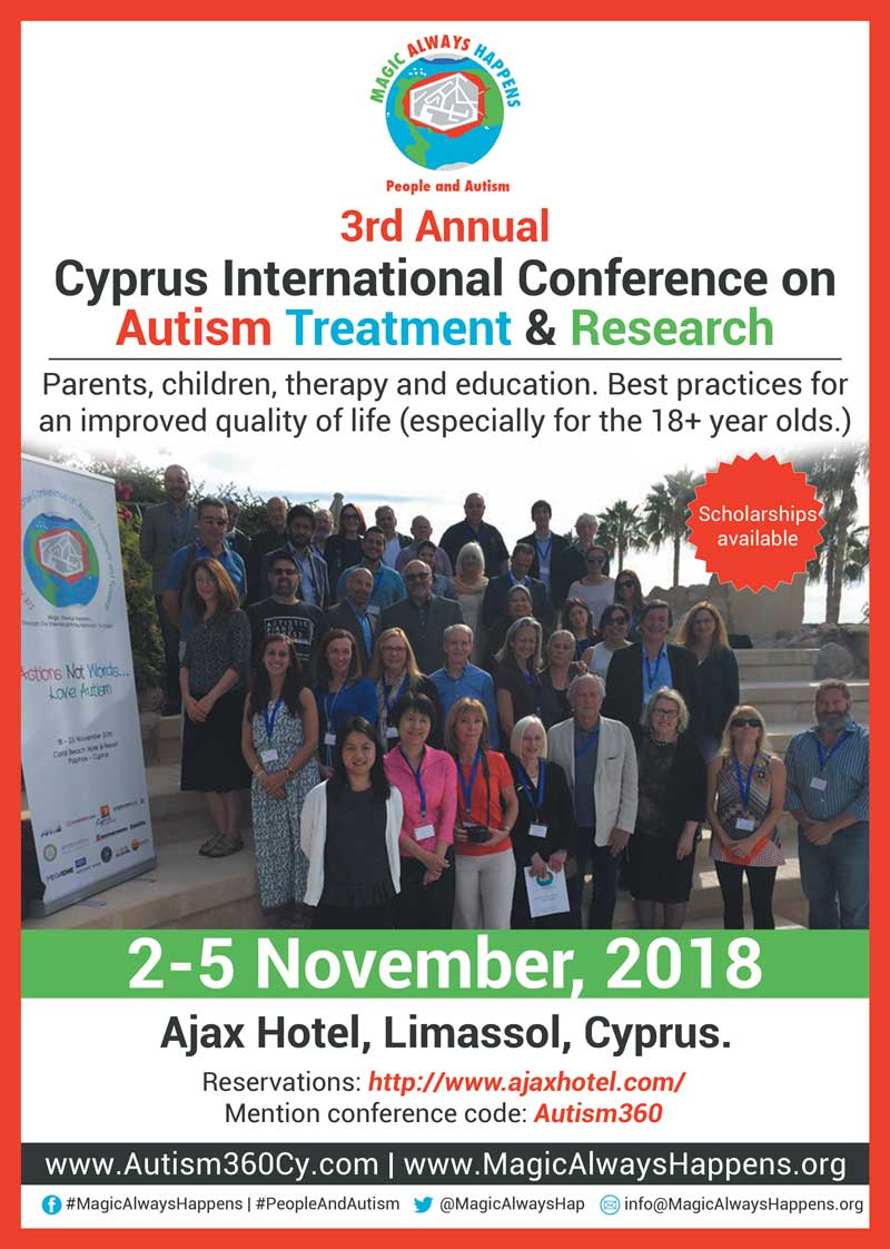 3rd Annual Cyprus International Conference on Autism Treatment and Research