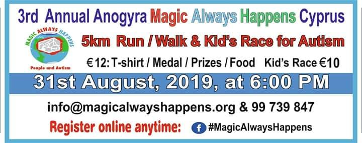 3rd Annual Anogyra Run